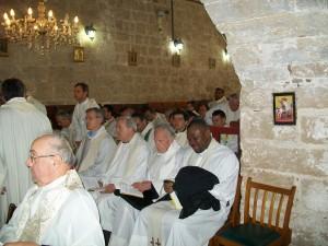 Cardinal Vallini Visit