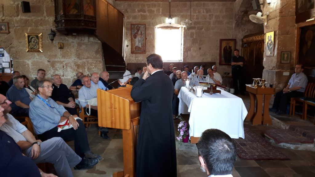 Visit of the Archbishop of Milan to St. Paul's in Paphos