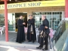 Patriarch Faoud visits Hospice Shop and Office